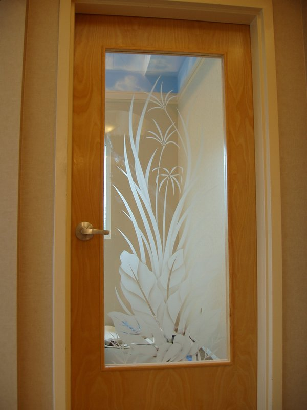 Etched Glass Custom Glass Etching And Frosted Window Door Decals